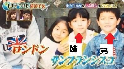 田中みな実の姉弟