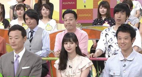 新川優愛の小顔