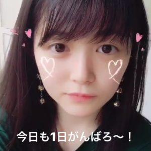 久間田琳加 すっぴん