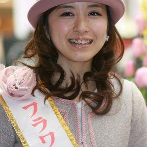 武田訓佳アナのフラワープリンセス画像