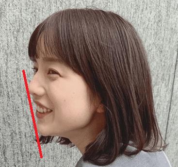 弘中綾香アナの横顔