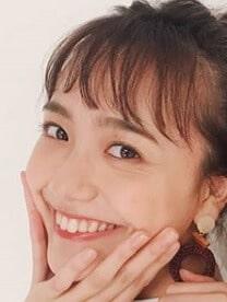 松井愛莉の口角