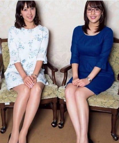小澤陽子の膝下