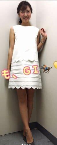 小澤陽子の美脚