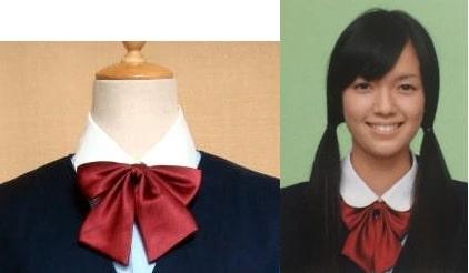 佐藤栞里の制服