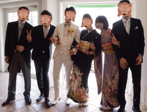 池田エライザ兄の結婚式